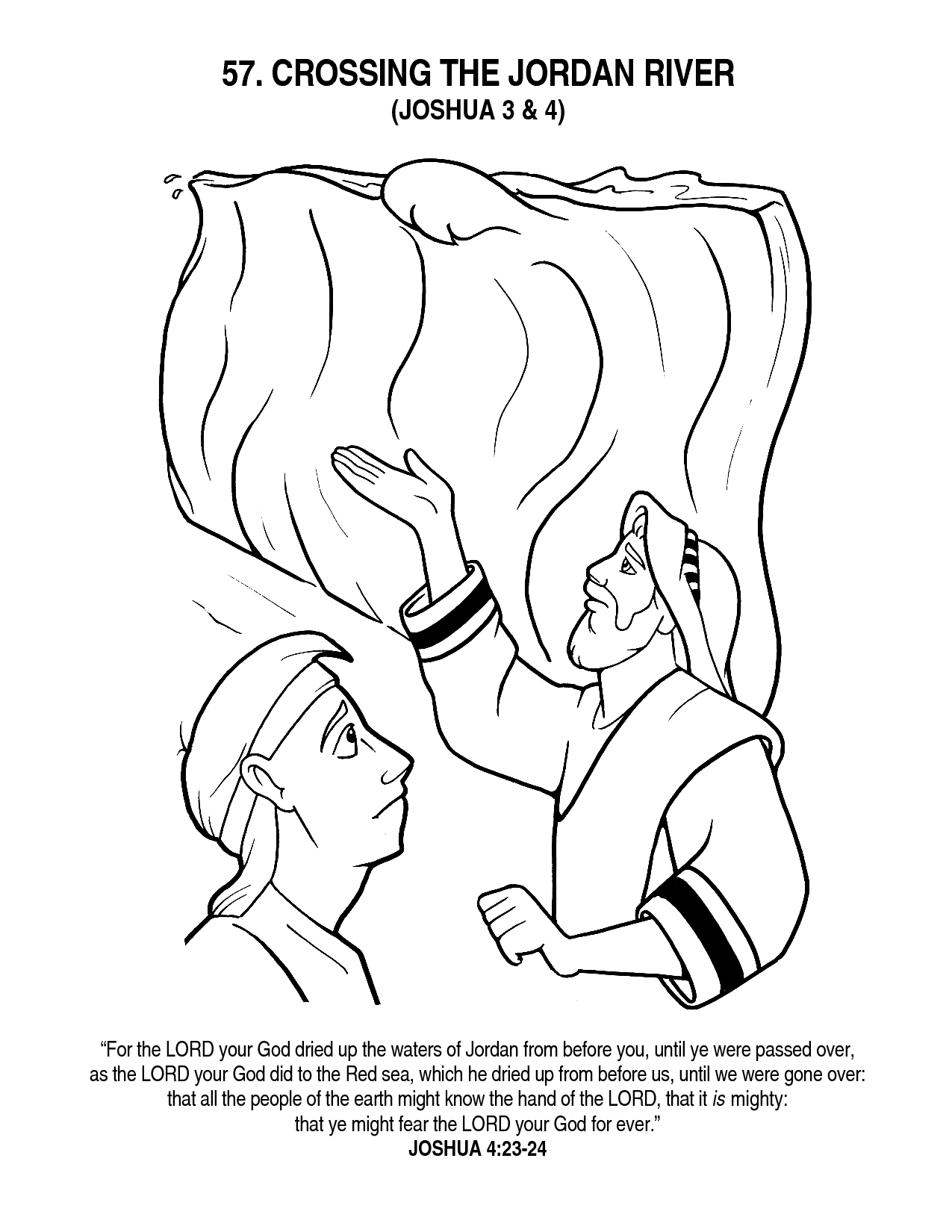 free rahab coloring pages - photo#4