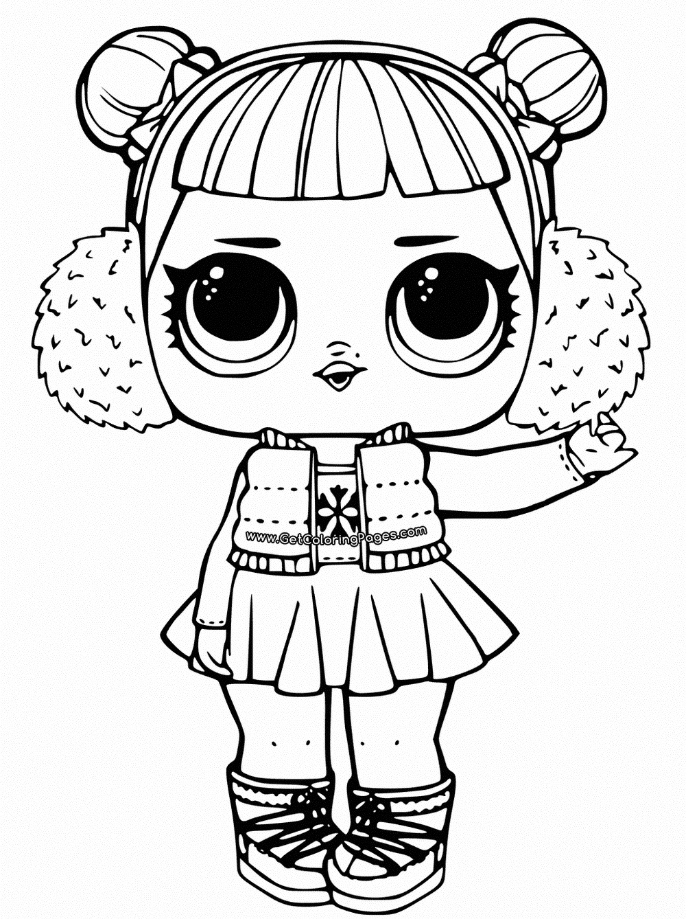 - Lol Doll Coloring Pages - Coloring Home