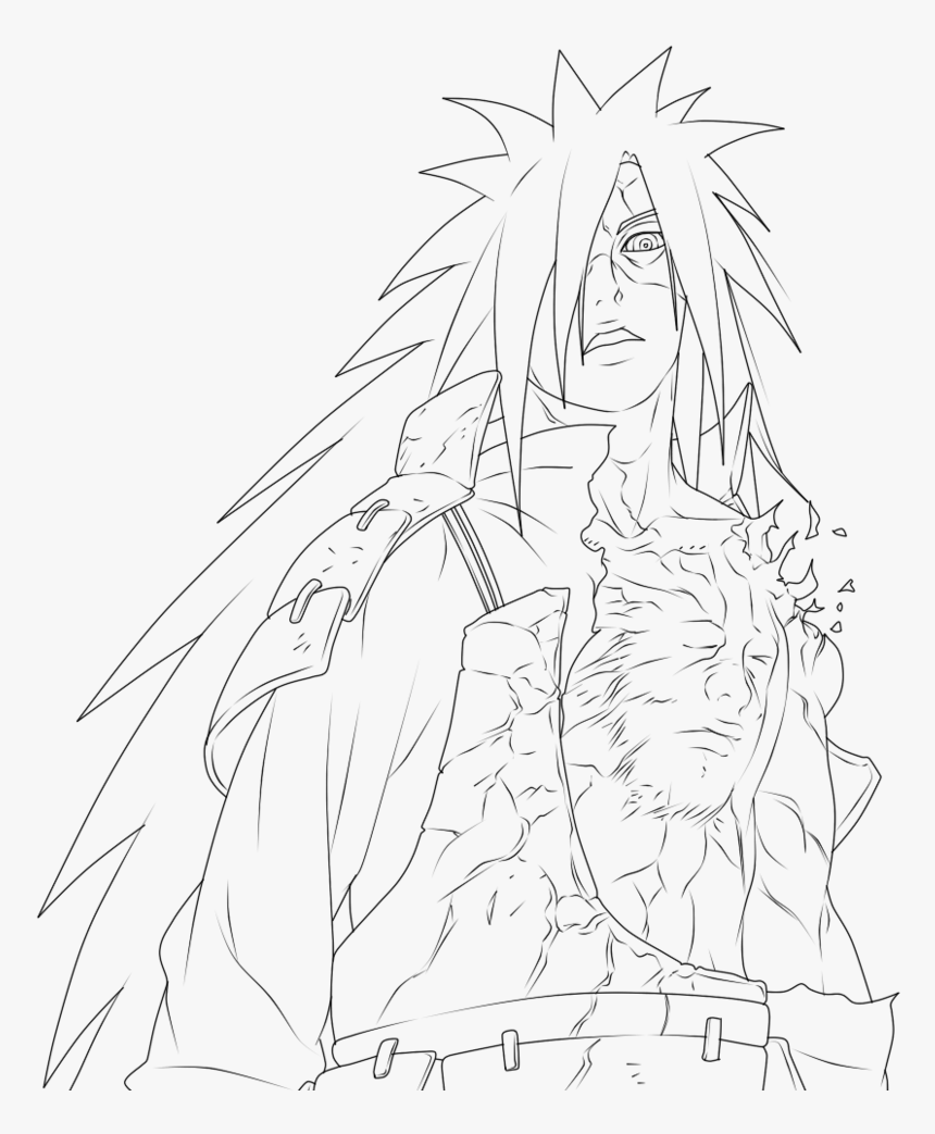 Itachi Coloring Pages 28 Collection Of Madara Uchiha - Madara Uchiha Coloring  Pages, HD Png Download - kindpng