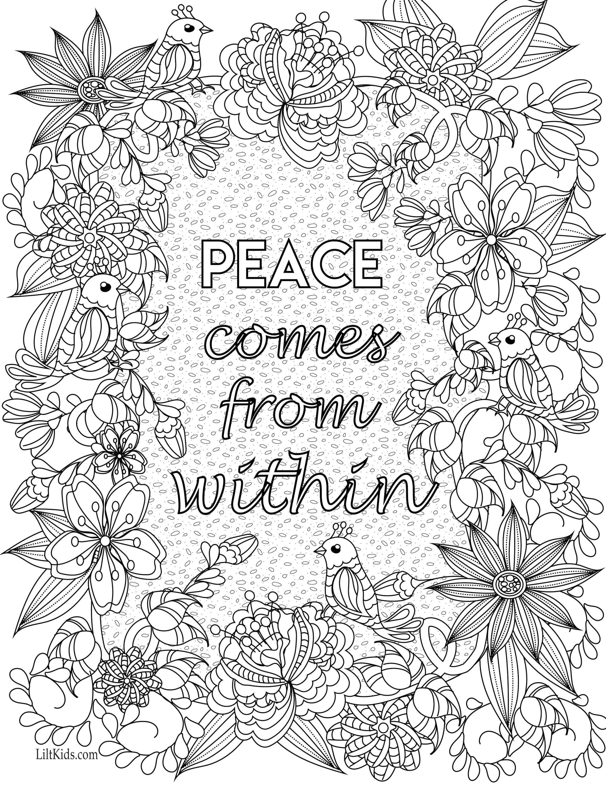 Inspirational Coloring Pages Coloring Home
