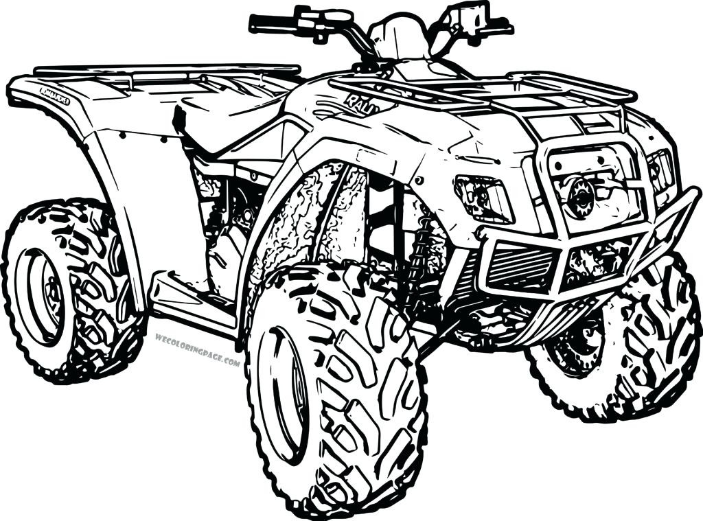 Quad Coloring Pages Coloring Home