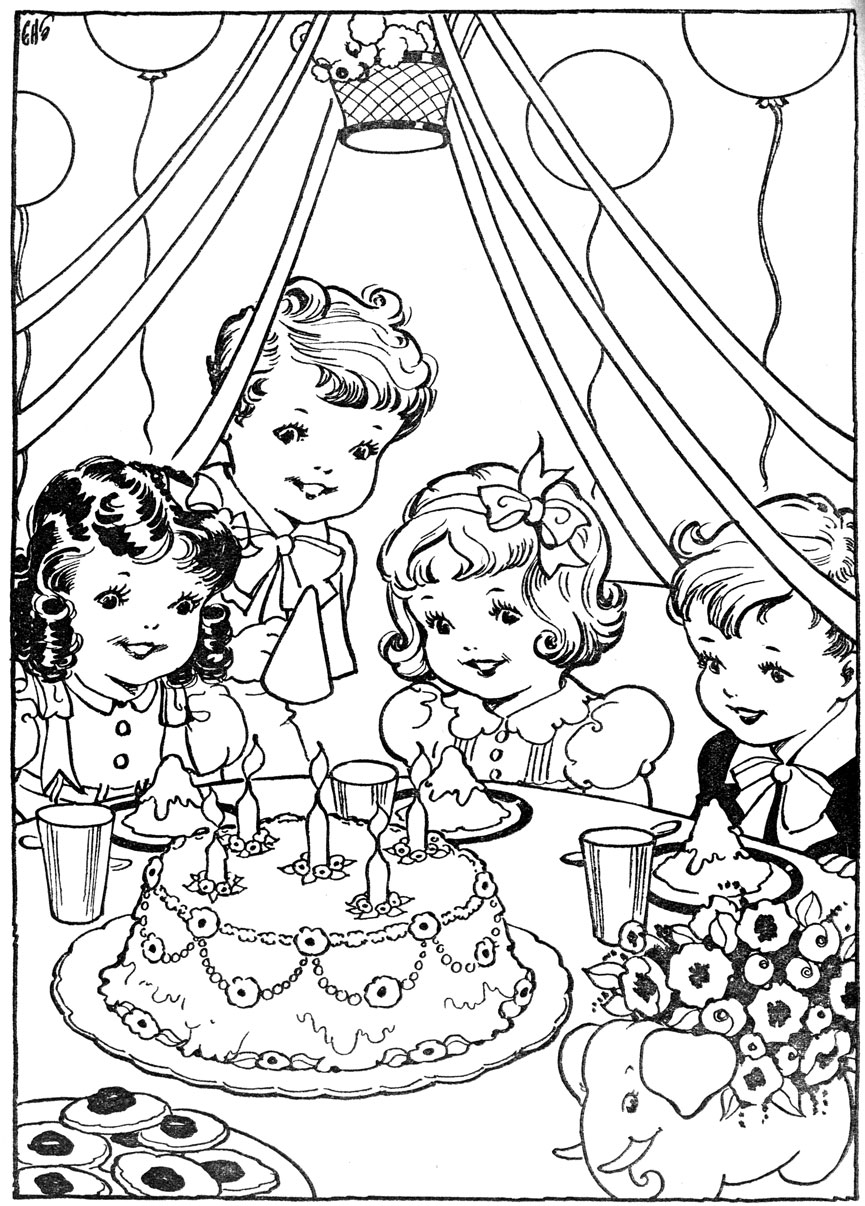 kids domain christmas coloring pages - photo#26