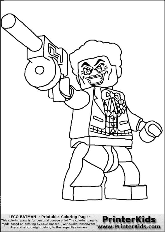 Free Joker Coloring Pages, Download Free Clip Art, Free Clip ...