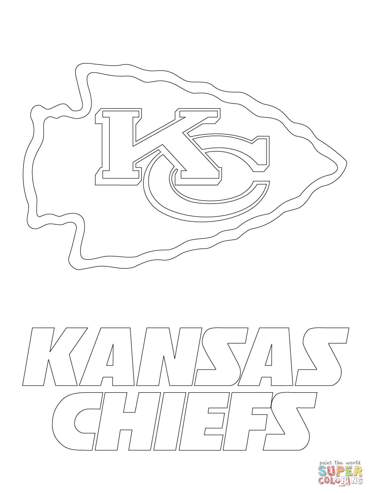 Kansas City Chiefs Coloring Pages Coloring Home
