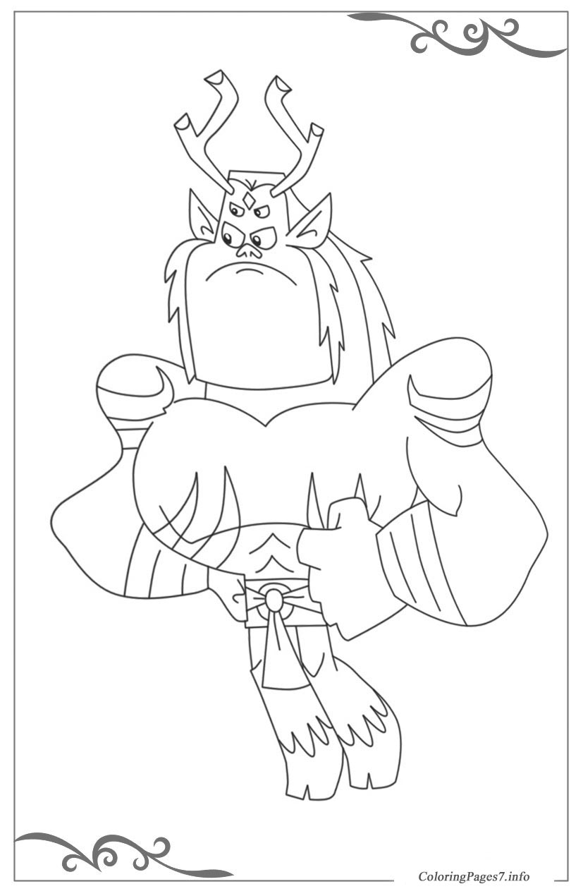 Teen Titans Go Printable coloring Pages for boys