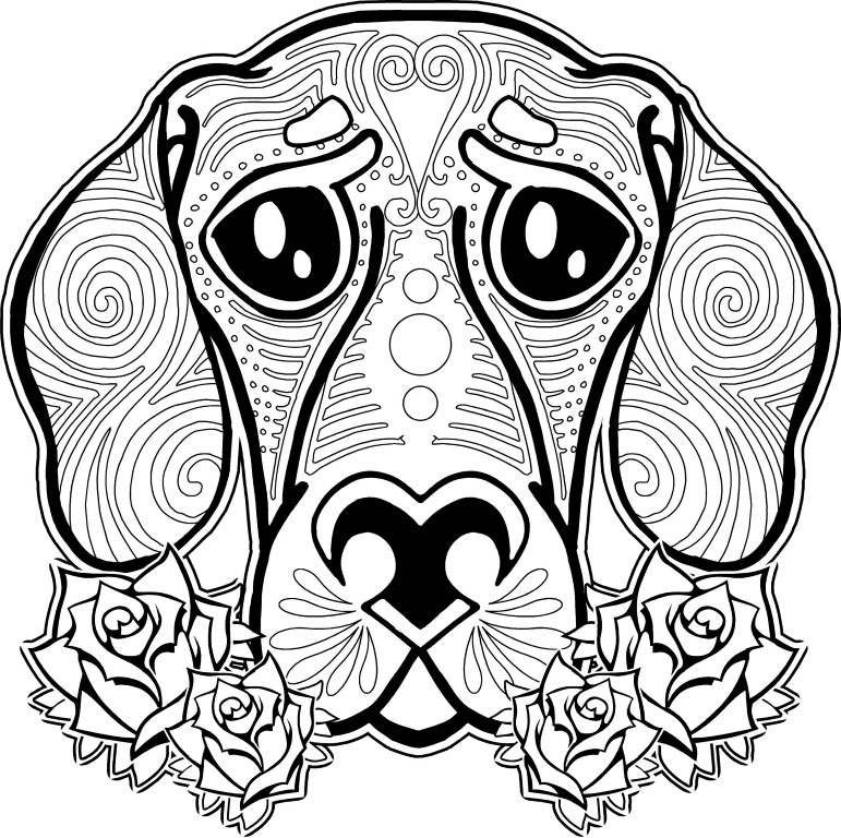 Dog Coloring Pages – coloring.rocks!