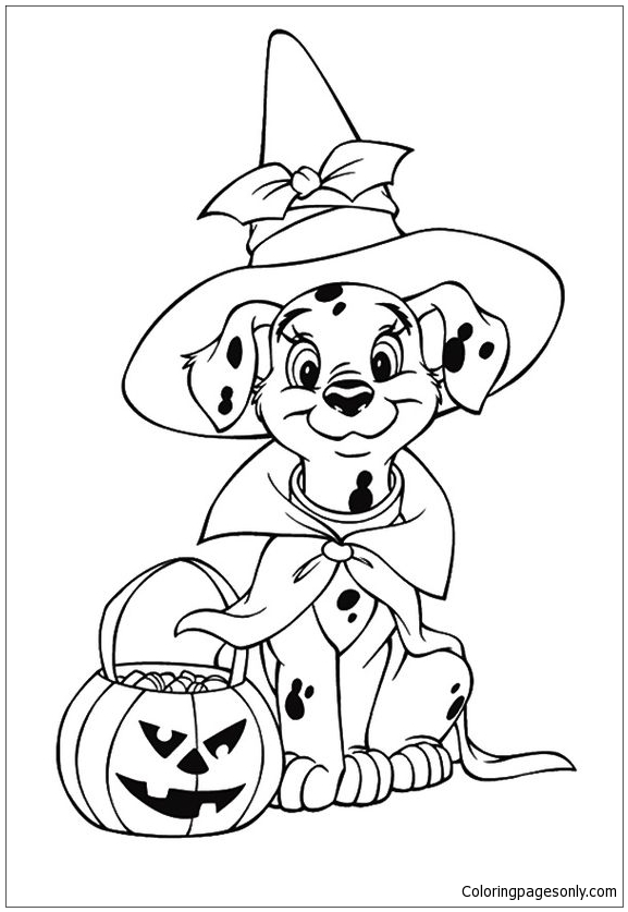 Paw Patrol Halloween Coloring Page - Free Coloring Pages Online - Coloring  Home