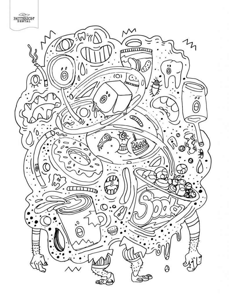 Food Coloring Pages – coloring.rocks!coloring.rocks