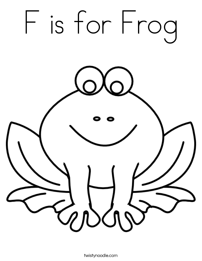 f coloring pages - photo #22