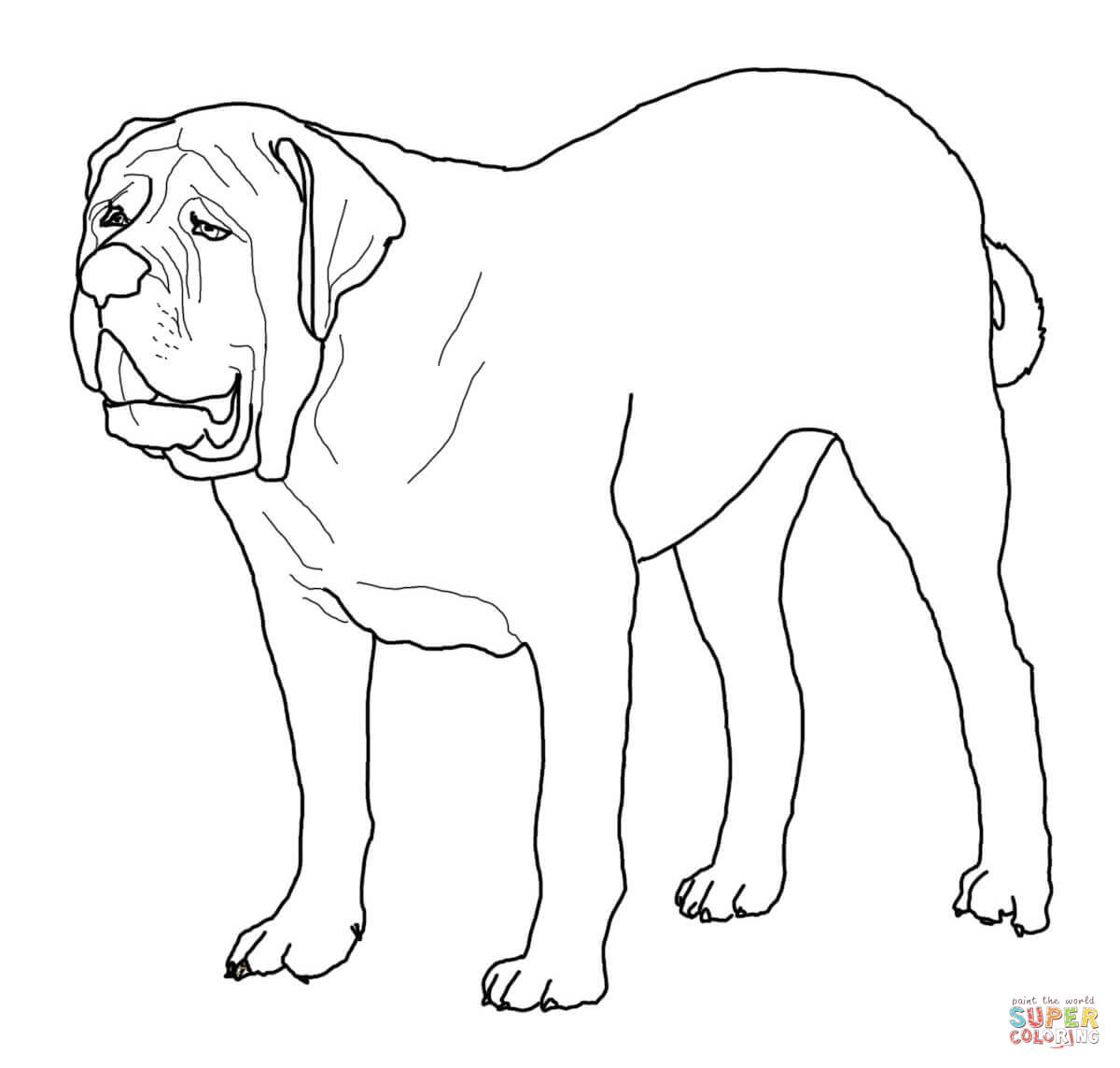 Golden Retriever Puppy coloring page | Free Printable Coloring Pages | 1144x1200