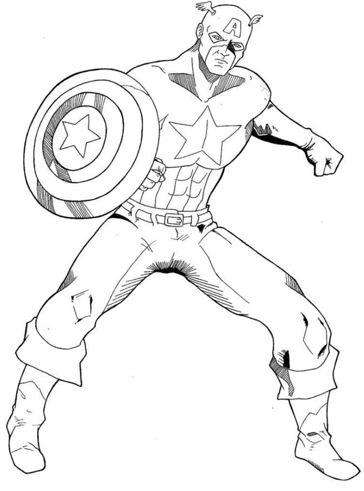 15 pics of captain america symbol coloring pages captain america