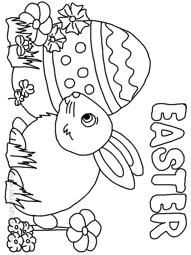 small easter coloring pages - photo#33