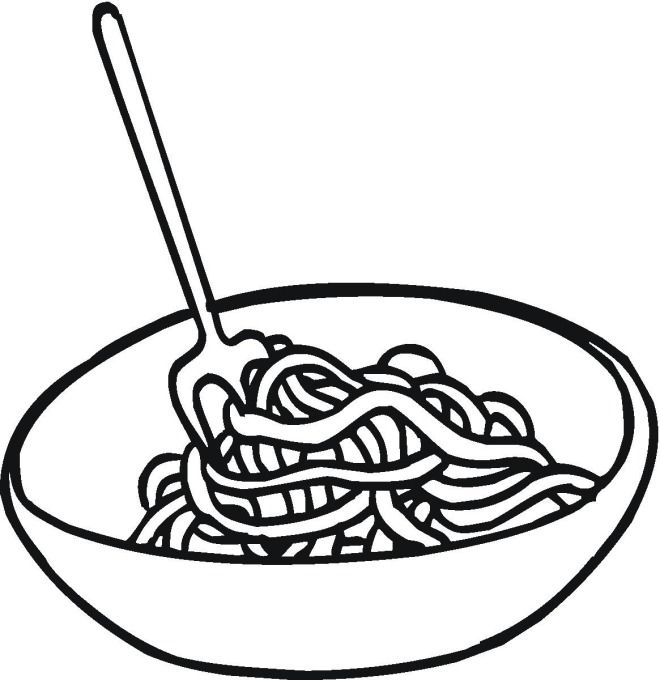 spaghetti coloring pages | Coloring pages, Coloring pages for ...