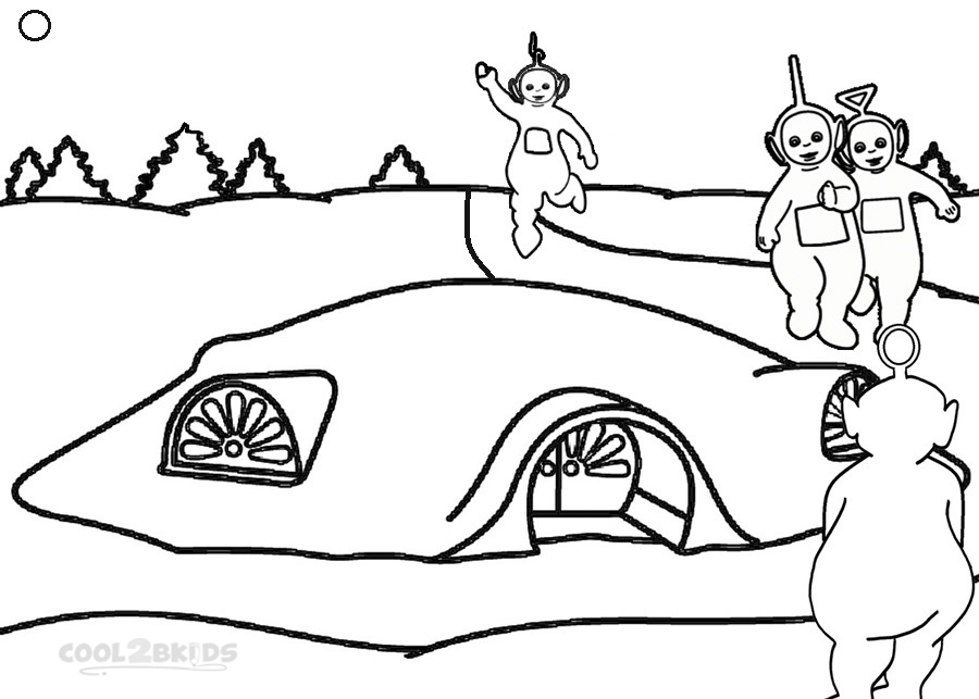teletubbies online coloring pages - photo#25