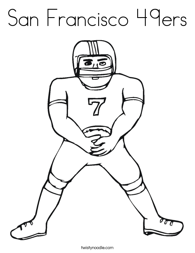 49ers Coloring Pages | Coloring Pages - Coloring Home