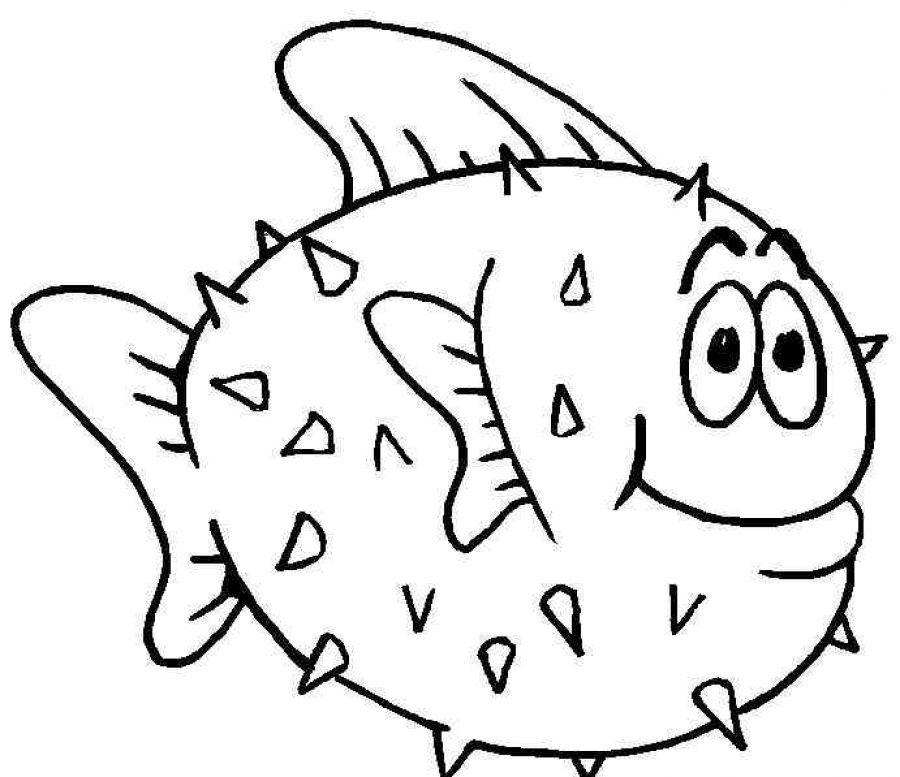 fish coloring pages free - photo#15