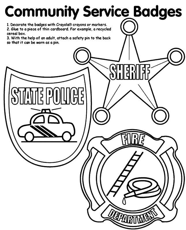 Community Helpers Coloring Pages Pdf : Arts crafts sallies and bunnies community helpers