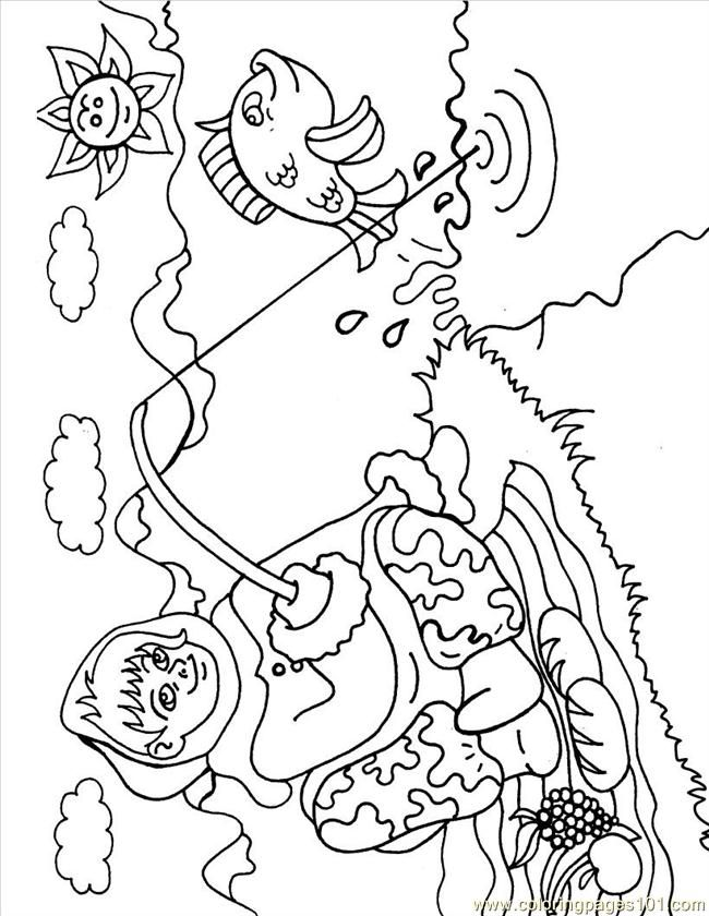 Eskimo Coloring Pages - Free Printable Coloring Pages | Free ...