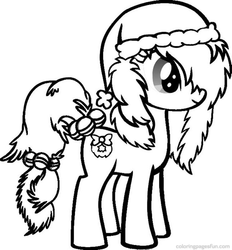 coloring pages ponies - photo#21