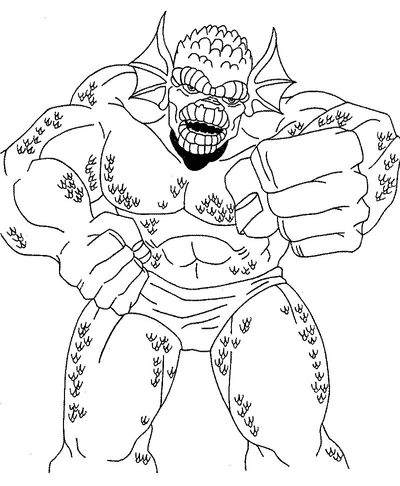 hulk face coloring pages - photo#25