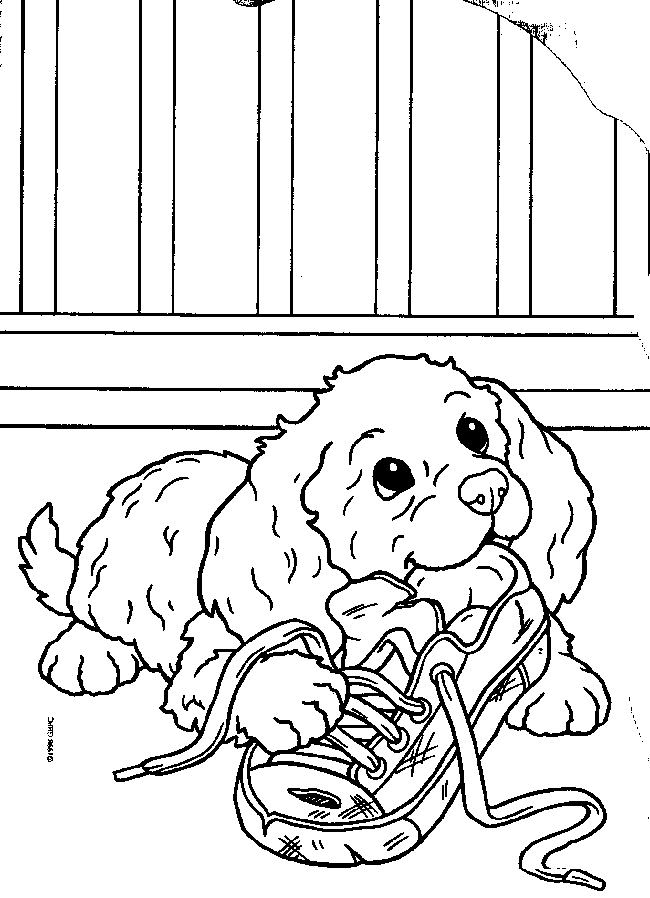 Puppy Coloring Pages for Kids - Free Printable Dog Coloring Pages