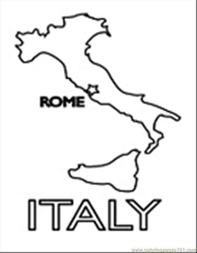 italy coloring pages - photo#11