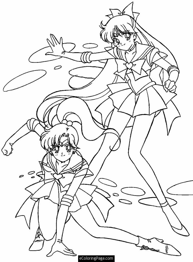 Anime Printable Coloring Pages - Coloring Home