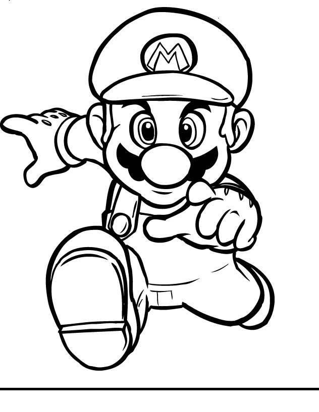 Super Mario Characters Coloring Pages Az Coloring Pages Mario Characters Coloring Pages