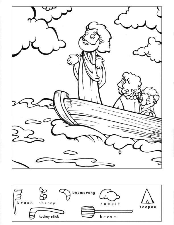 Coloring Pages For Jesus Calms The Storm : Jesus Calms The Storm Coloring Pages AZ Coloring Pages
