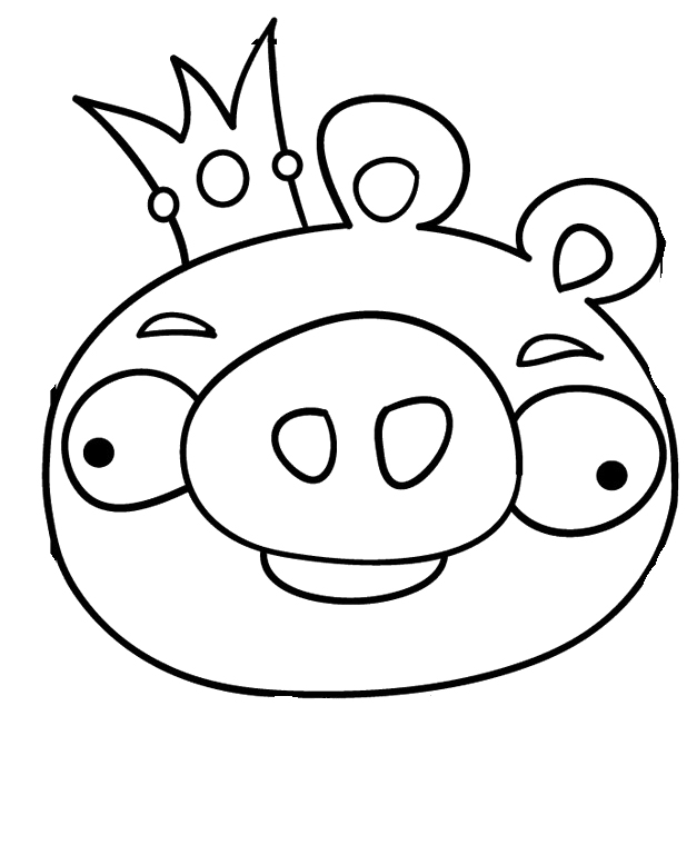 Pig Images For Kids Az Coloring Pages Angry Birds Pigs Coloring Pages