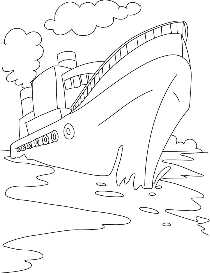 Cruise ship coloring page az coloring pages for Cruise ship coloring page