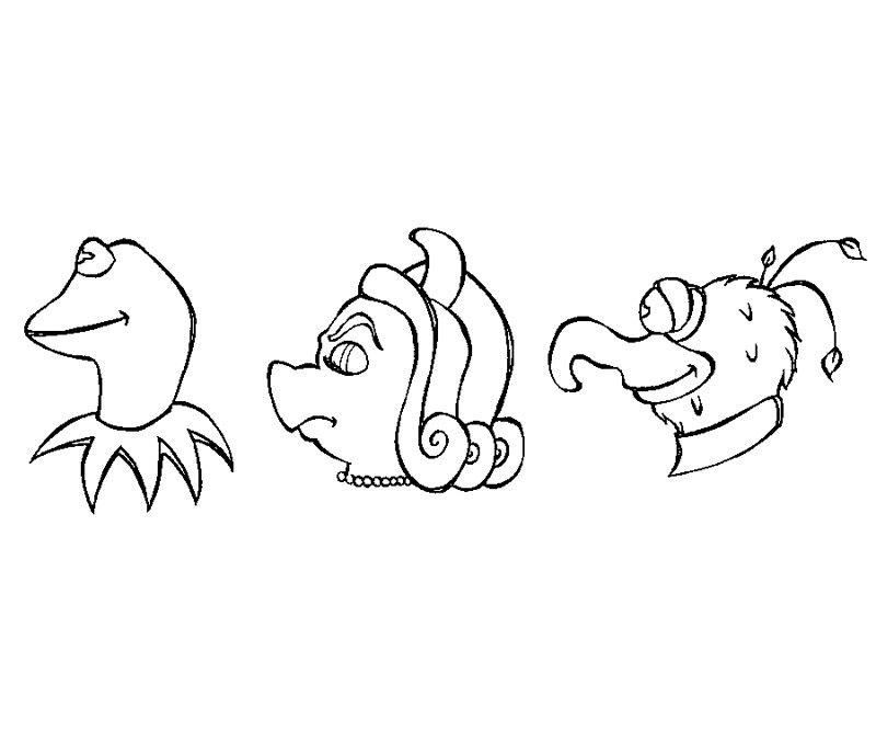 15 The Muppets Coloring Page
