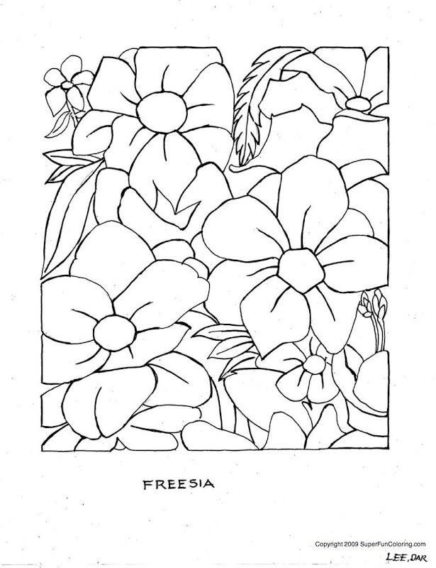 advanced coloring pages spring - photo#1
