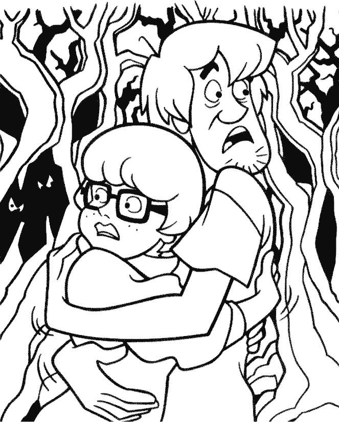 scared coloring pages - photo#36