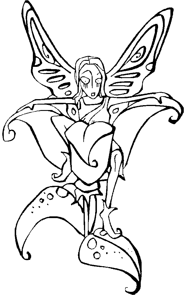 Fairies Coloring Pages | Coloring Pages To Print