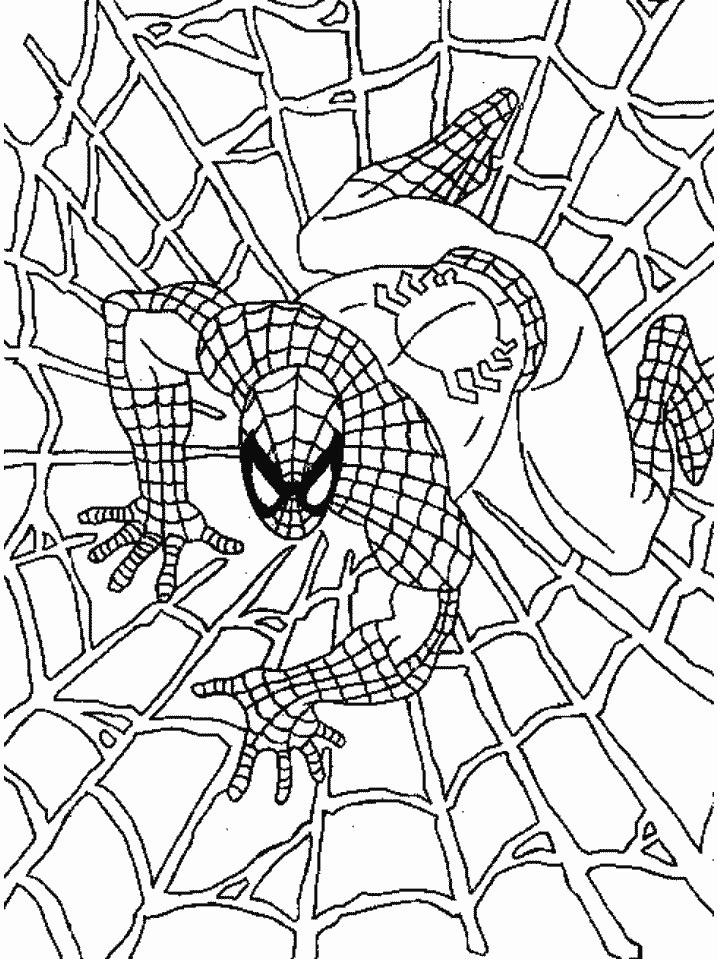 spiderman 3 venom coloring pages - photo#15