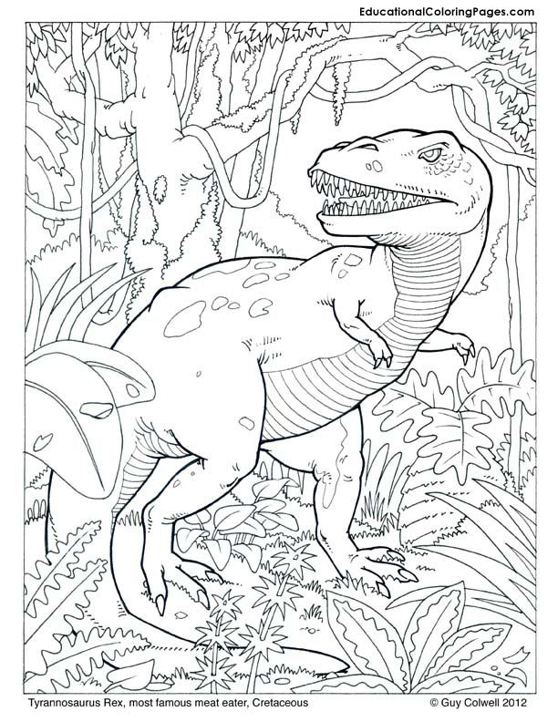 free printable coloring pages dinosaurs coloring home