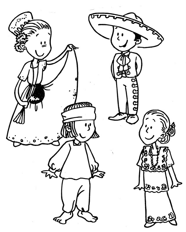 Mexico map coloring page az coloring pages for Mexico map coloring page