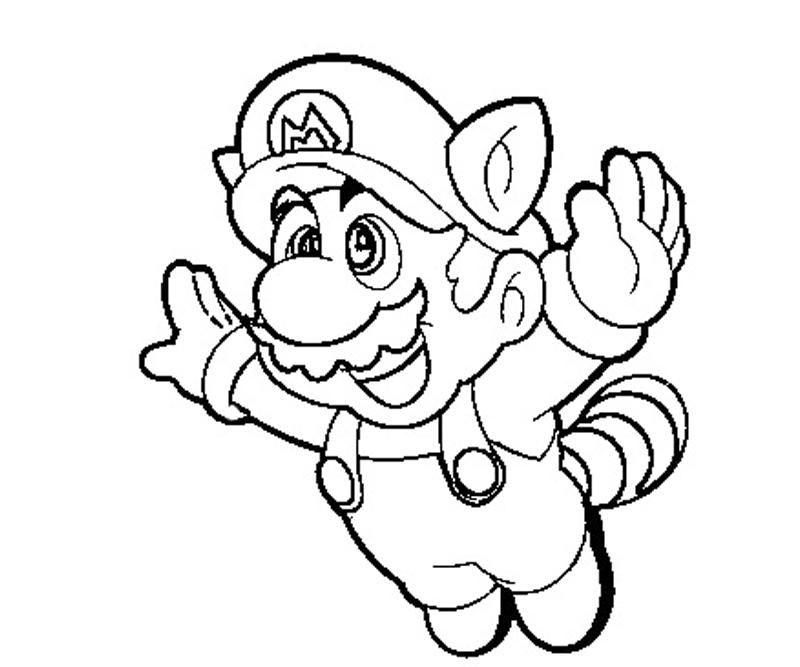 Super Mario 3d Land Coloring Pages
