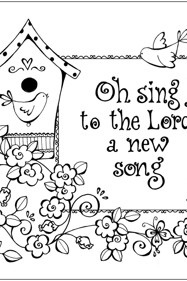 scripture coloring pages free - photo #9