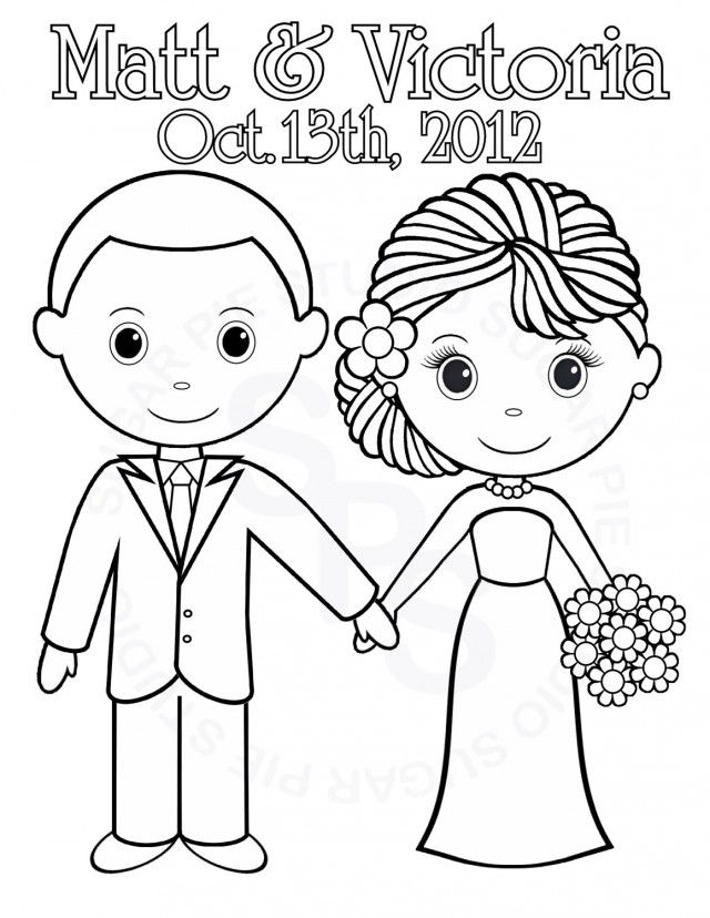 Wedding Anniversary Coloring Pages Coloring Home Anniversary Coloring Pages