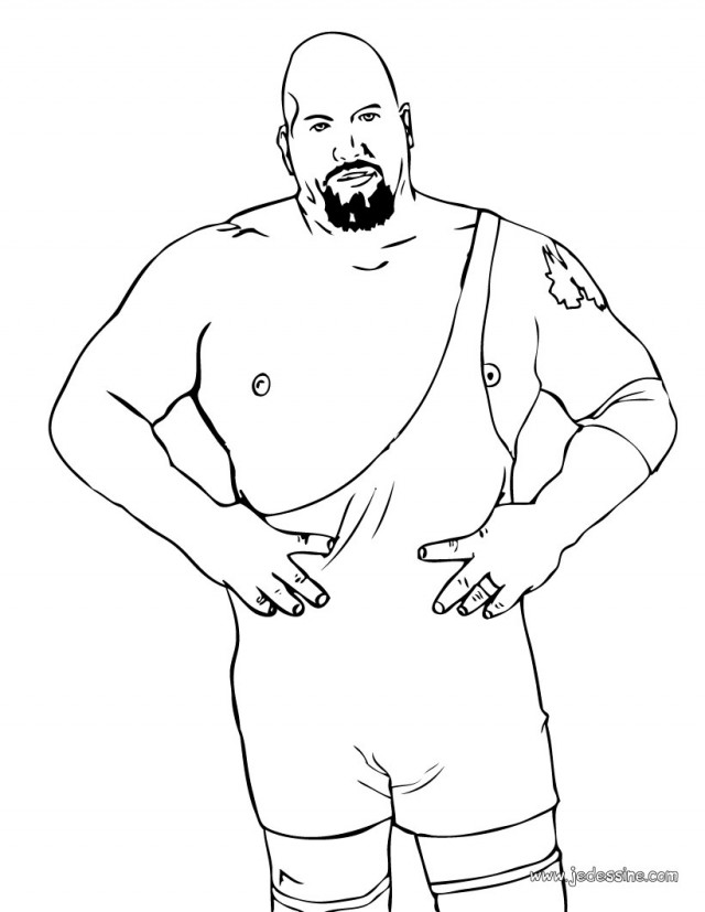 Wwe Superstar The Rock Wwe Printable Coloring Pages Printable ...