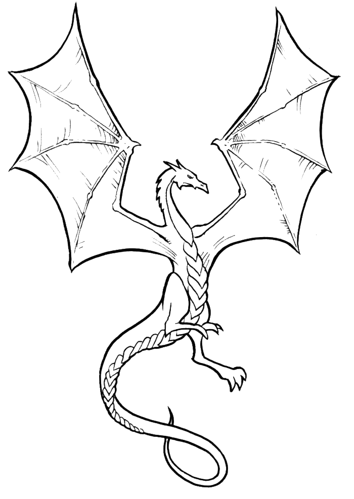 dragon adult coloring pages - photo#35