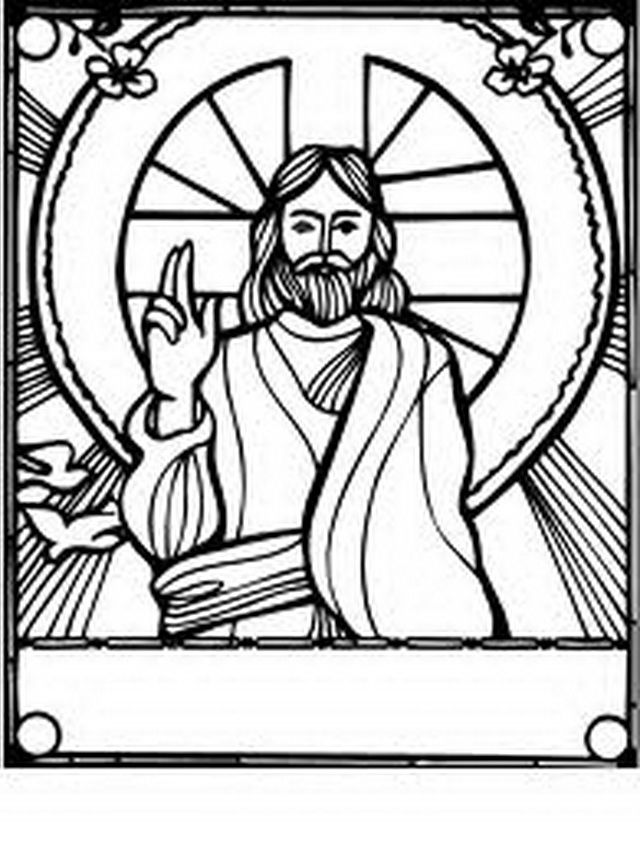Coloring Pages Jesus  Coloring Home