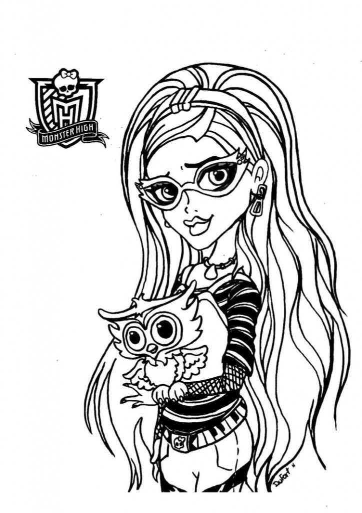 monster high baby coloring pages coloring ws