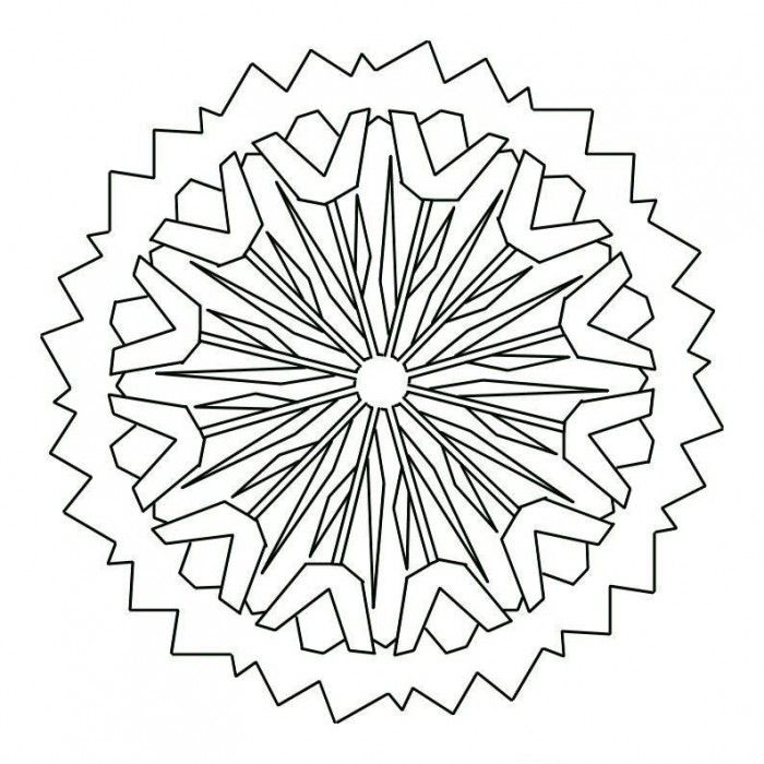 difficult mandala coloring pages - photo#18