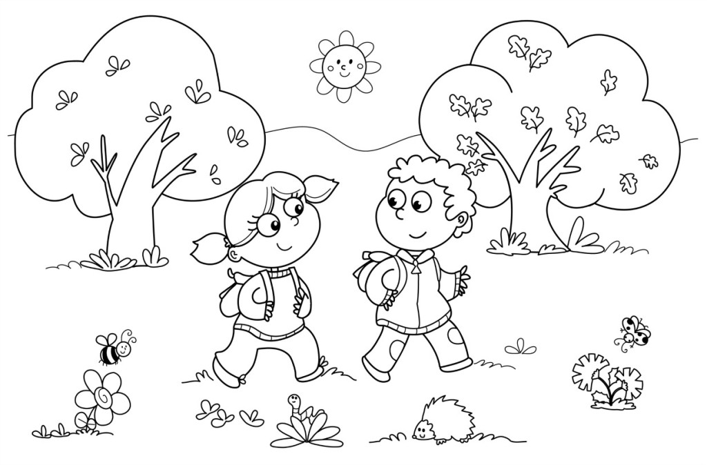 Coloring Pages For Preschoolers Fall : Preschool fall coloring pages az