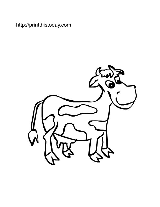 domestic animals coloring pages - photo#32