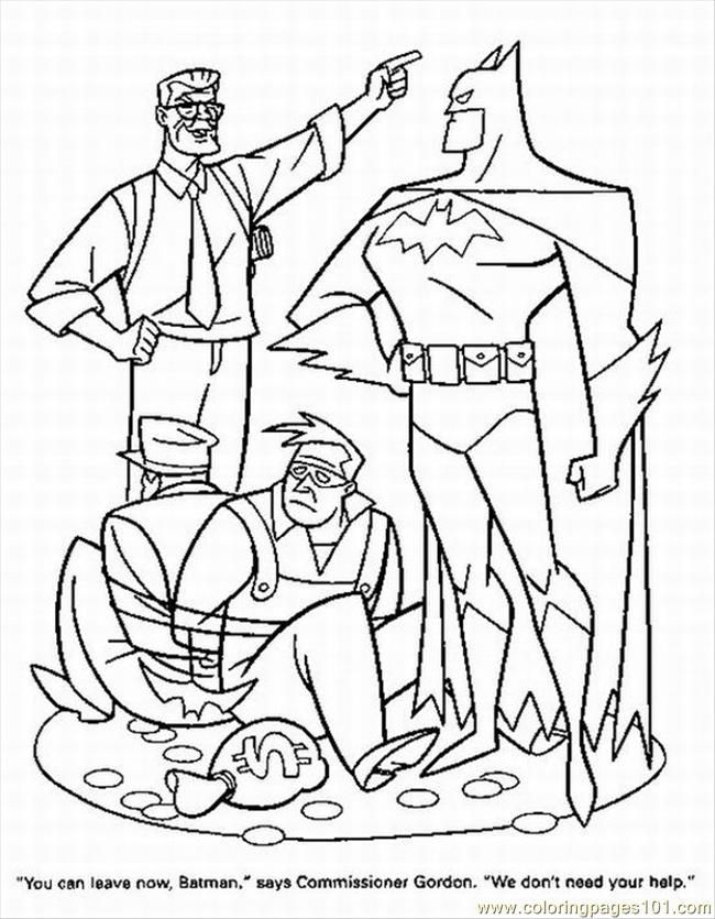 color superhero Colouring Pages (page 2)