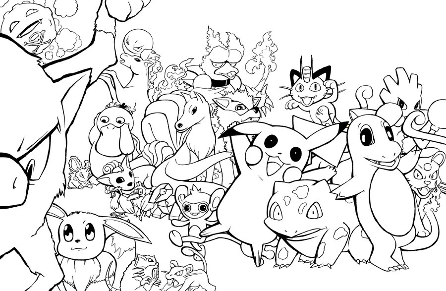 Pokemon legendary coloring pages az coloring pages for All pokemon coloring pages